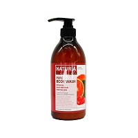 NATURIA-Pure-Body-Wash-Cranberry-&-Orange-750ml-1